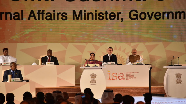 Founding Ceremony of International Solar Alliance on 11th March, 2018.