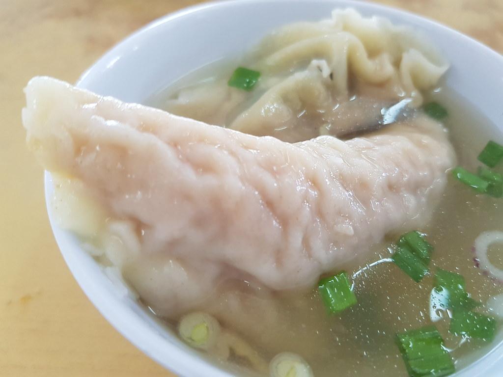 雞腳雲吞麵加水餃 $6.50+$2 @ 沅記 Guan Kee Wan Ton Mee at 新永顺茶餐室 Resyoran Weng Soon Jaya USJ 17