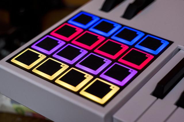 M-Audio keyboard touchpad 2