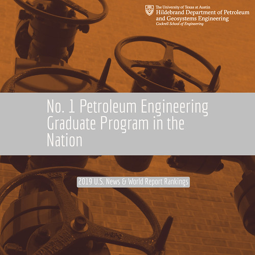 The UT PGE graduate program is No. 1 in the 2019 U.S. News & World Report rankings