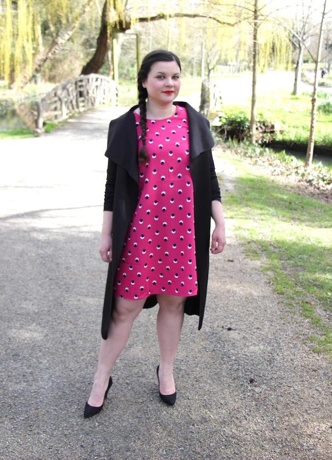 comment-porter-robe-rose-fuchsia-blog-mode-la-rochelle-3