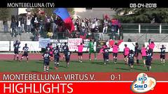 Montebelluna-Virtus V.-Abano del 08-04-18