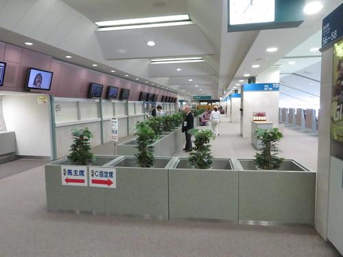 福島競馬場の馬主席入口