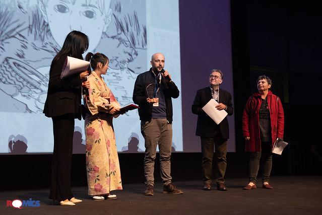 Premiazione Concorso Romics dei Libri a Fumetti 2018