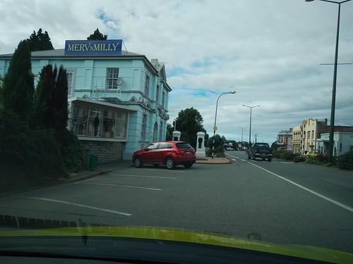 Hacia Invercargill. Winton. Isla Sur. Nueva Zelanda