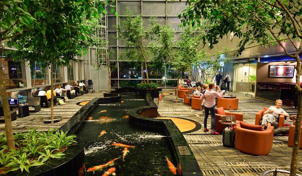 Changi Airport, Singapura.