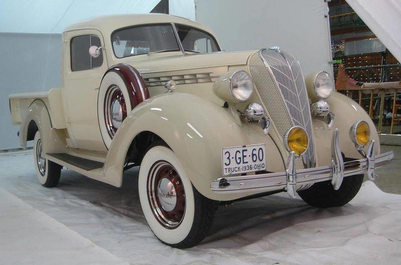 1936 Hudson Terraplane Express.