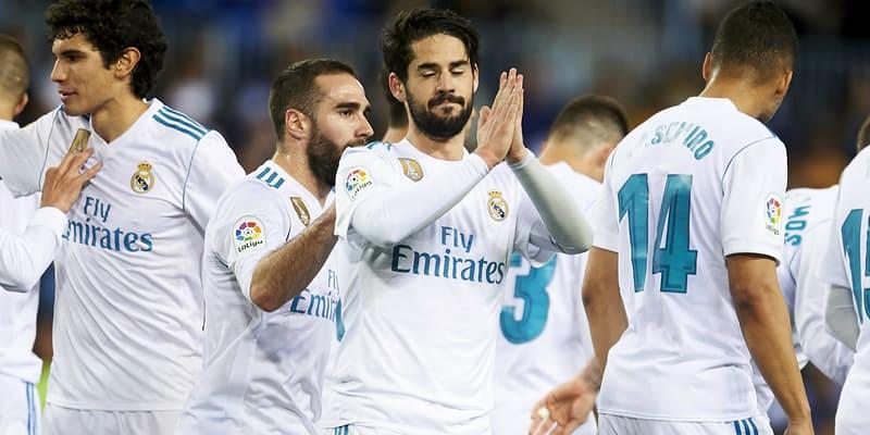 Tuan Rumah Malaga Dikalahkan Real Madrid Dengan Score Tipis 1-2