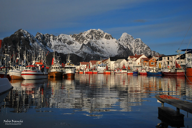 Barche da pesca ad Henningsvaer - Austvågøy
