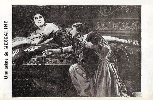 Rina De Liguoro in Messalina (1924)