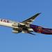 F.C. Barcelona Qatar Airways 777.