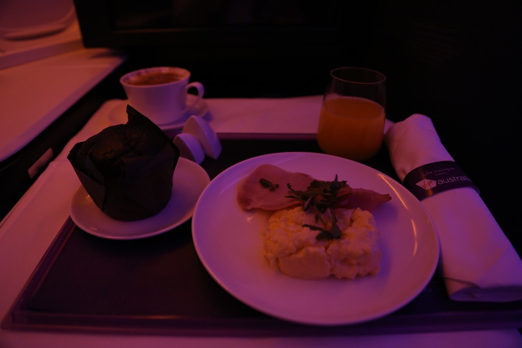 Virgin Australia business class 72