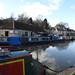 Wharf, Kennet & Avon Canal, Bradford on Avon, Wiltshire 13 March 2018