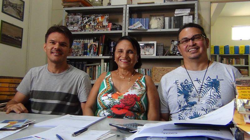 Instituto Histórico do Tapajós decide reeleger Terezinha Amorim à presidência da entidade, Wildson, Terezinha e Sidney Canto