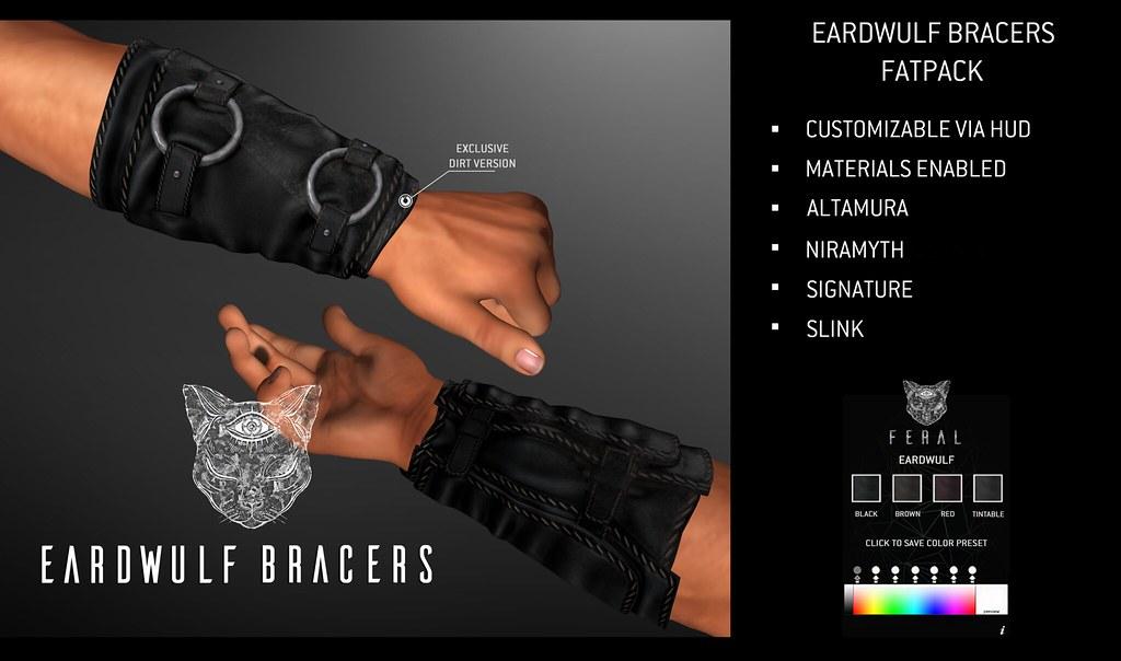 Feral - Eardwulf Bracers - TeleportHub.com Live!
