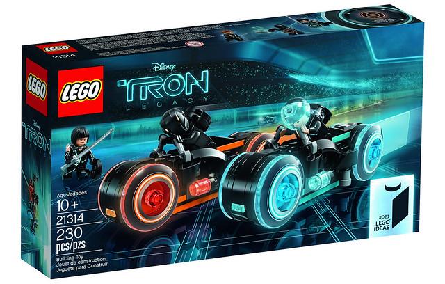 光輪機車真的帥翻天!! LEGO 21314 Ideas 系列《創:光速戰記》Tron Legacy