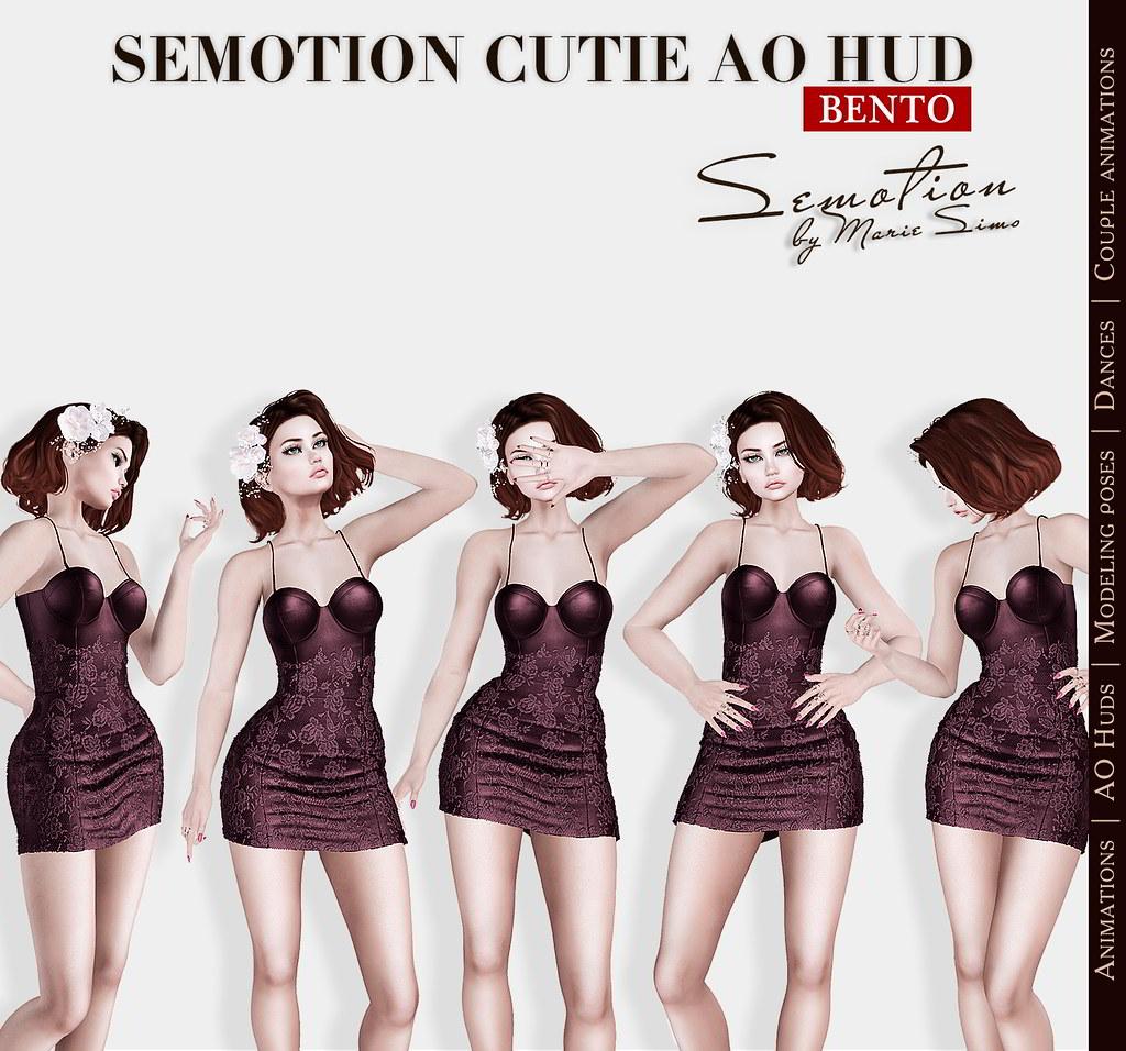 SEmotion Cutie AO HUD v3.9 - TeleportHub.com Live!