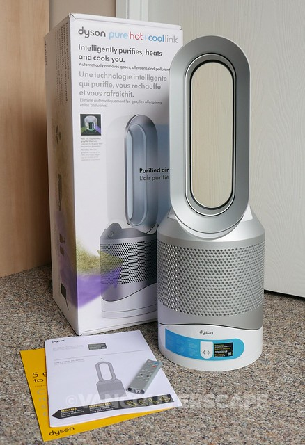 Dyson Pure Hot+Cool Link/What's in the box