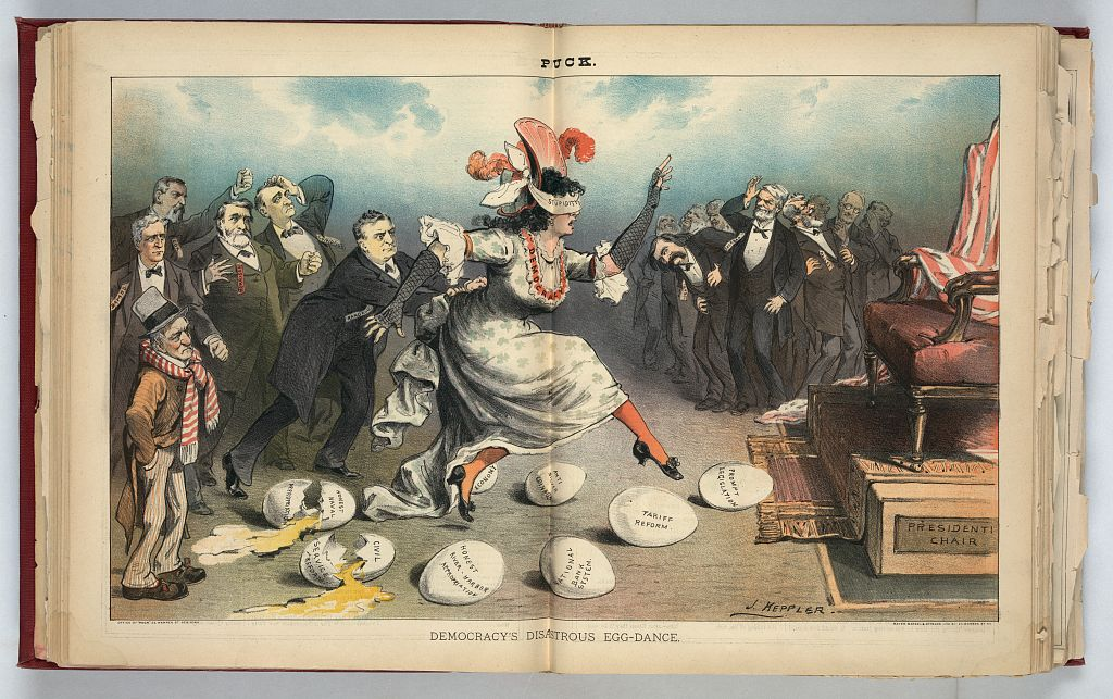 democracy egg dance