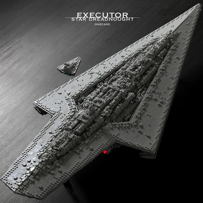 Lego Moc Executor Class Star Dreadnought By Onecase Rebrickable Build With Lego