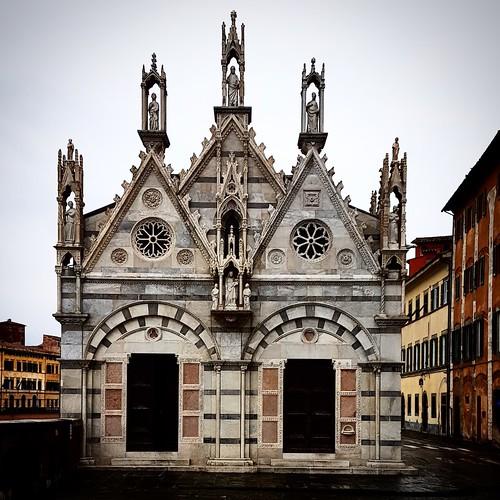 Pisa: chiesa della Spina