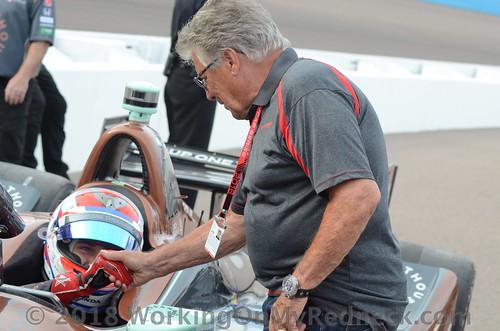 Zach Veach & Mario Andretti