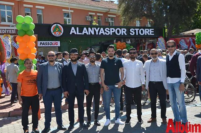 Alanyaspor Store açılış-5