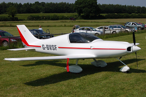G-BVSF Aero Designs Pulsar (PFA 202-12071) Popham 080608