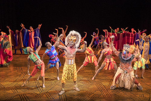 """Gerald Caesar as """"Simba"""" and company in THE LION KING North American Tour. ©Disney. Photo by Deen van Meer. We Just Can't Wait...Why You Need to See the Lion King On Tour"""