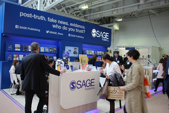 SAGE Publishing - London Book Fair 2018