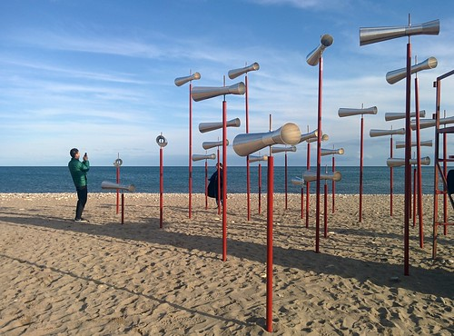 Revolution (2) #toronto #winterstations #beaches #woodbinebeach #revolution #publicart #latergram