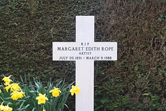 Margaret Edith Rope, artist