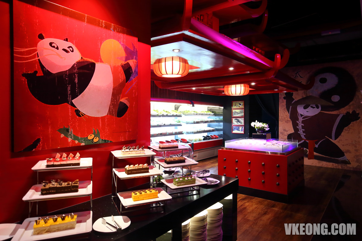 Kung Fu Panda Kitchen Steamboat Buffet Desserts