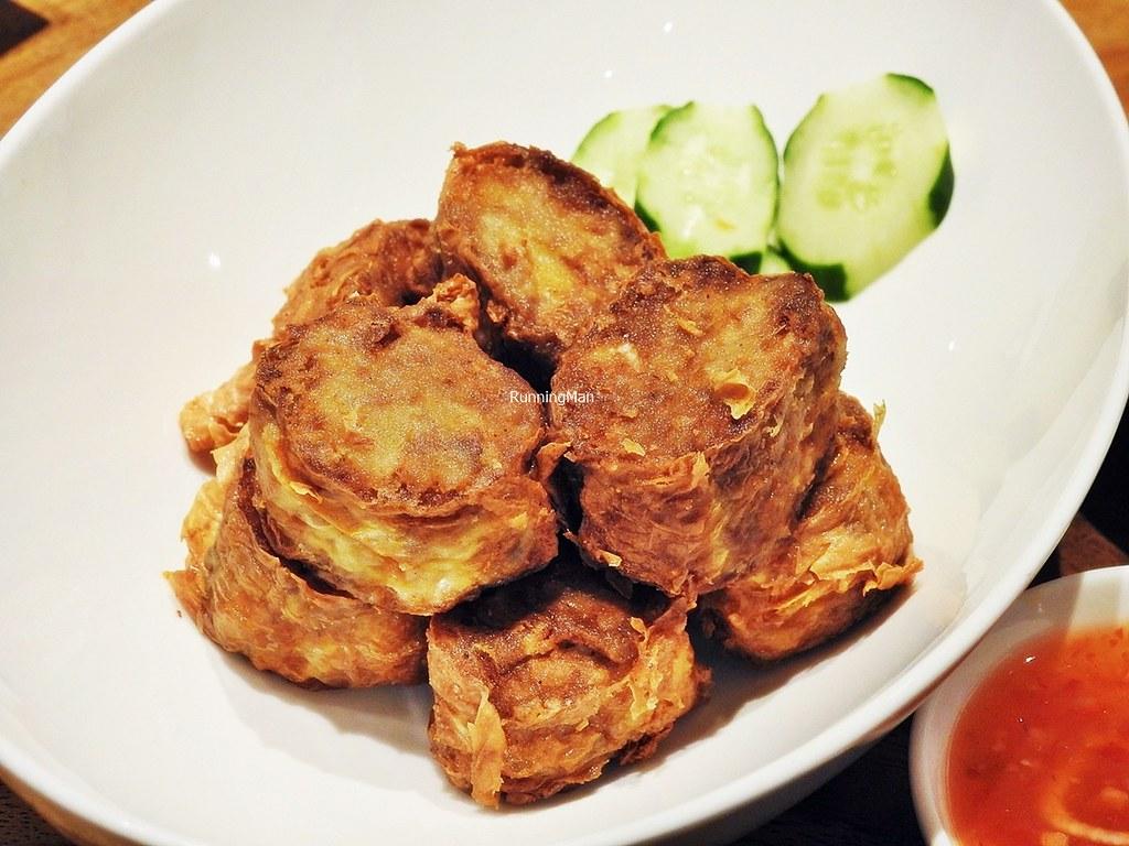5-Spice Pork & Prawn Rolls