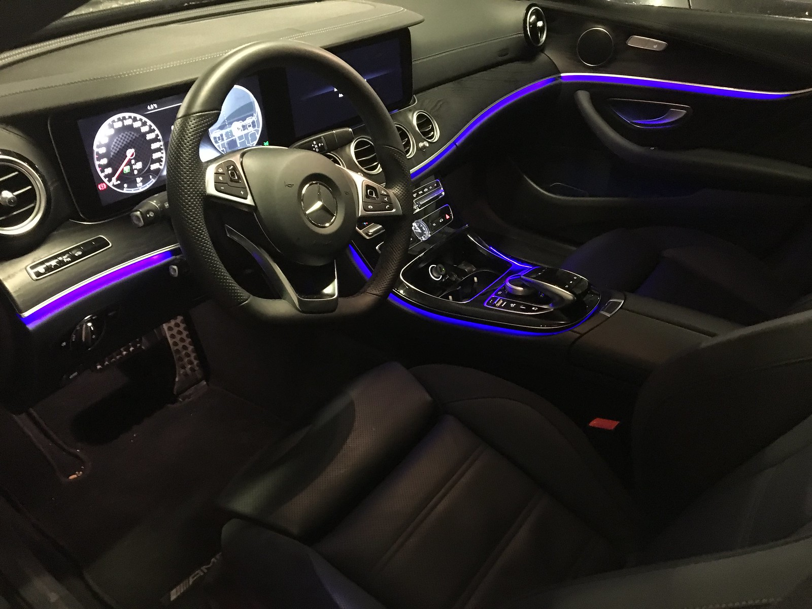 Koeajossa Mercedes AMG E43