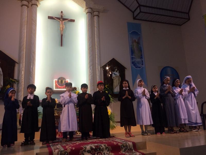 Lễ Chúa Chiên Lành tại Giáo xứ Cây Rỏi