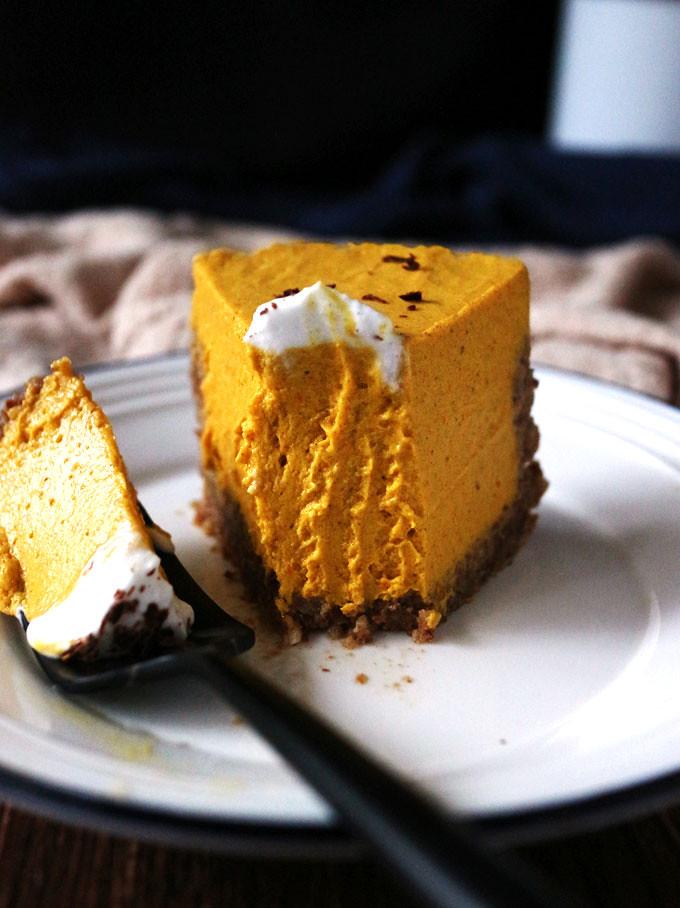 全素免烤南瓜派 (無麵粉) vegan-no-bake-pumpkin-pie (11)