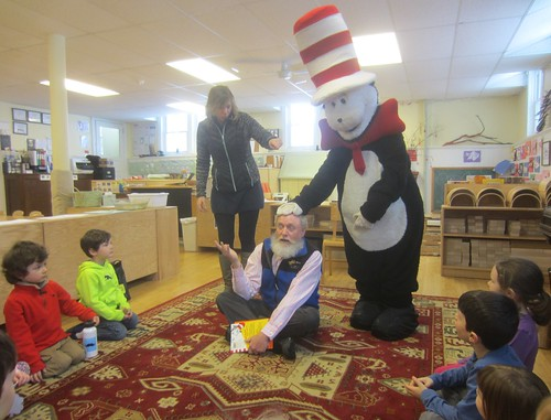 Andrea, AO, and the Cat in the Hat