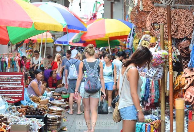 bali itinerary ubud art market
