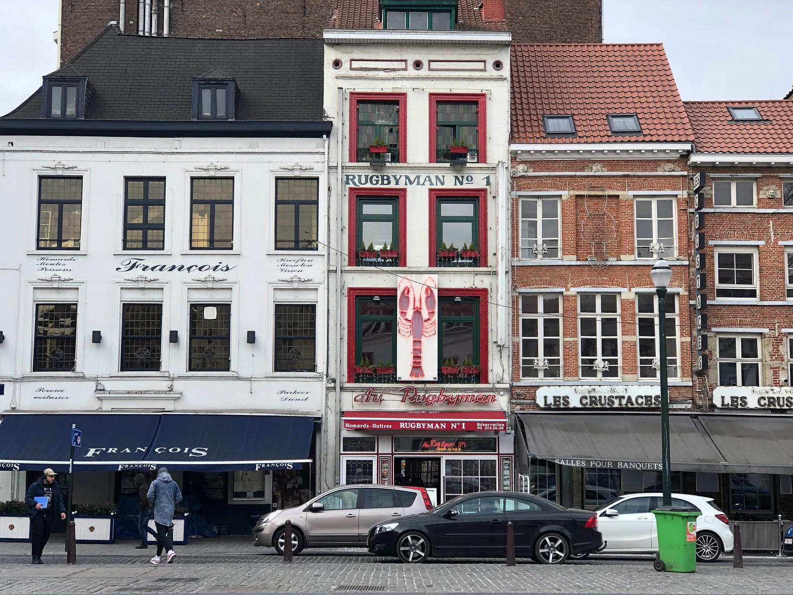 Las calles de Bruselas y sus acogedoras casitas