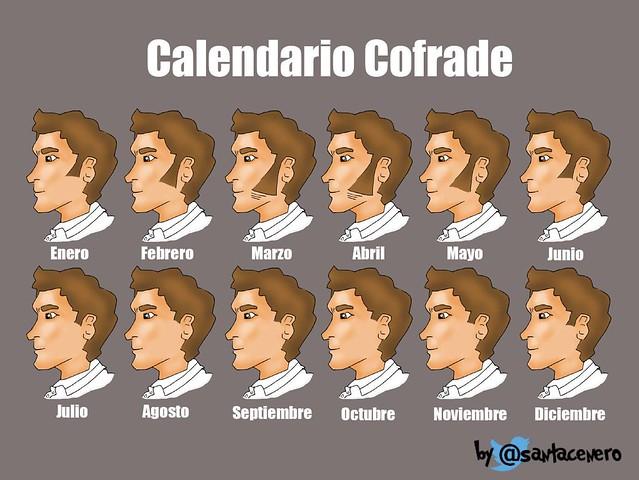 calendario cofrade