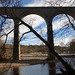 Lambley Viaduct and River South Tyne.
