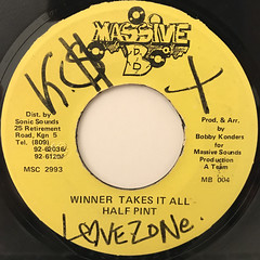 HALF PINT:WINNER TAKES IT ALL(LABEL SIDE-A)