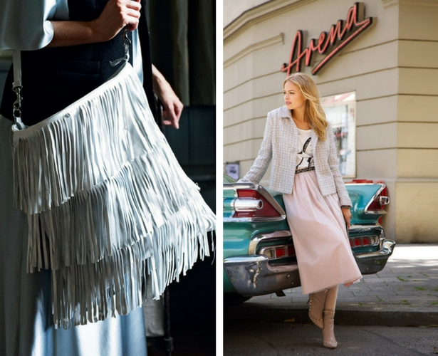 Patterns Fringe and Tulle