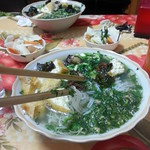 Dinner at Giang's family home