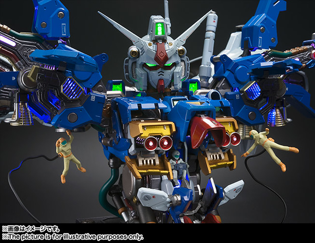 超進化可動胸像第3彈!FORMANIA EX《機動戰士鋼彈0083:星塵回憶》RX-78GP01Fb 鋼彈試作1號機 全方位推進型(ガンダム試作1号機 フルバーニアン)