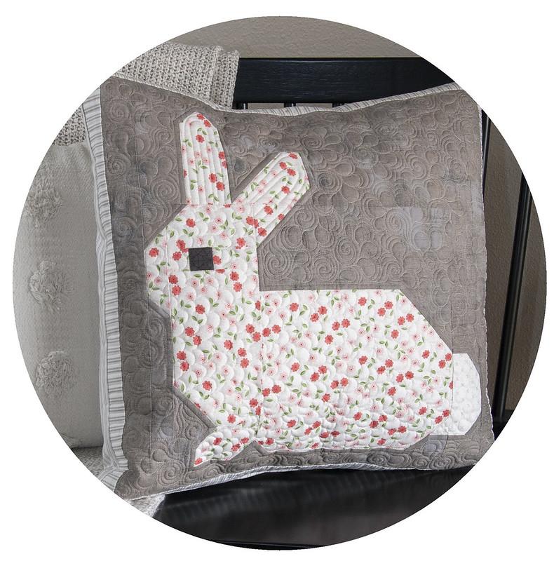 Little Cottontail pillow