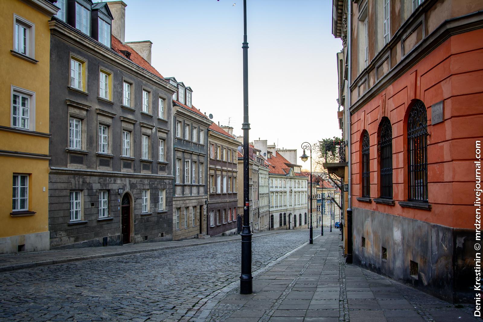 Варшава. Новый город. ул. Мостовая (Mostowa)