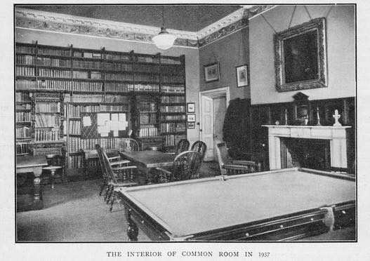 Masters' Common Room, 1937