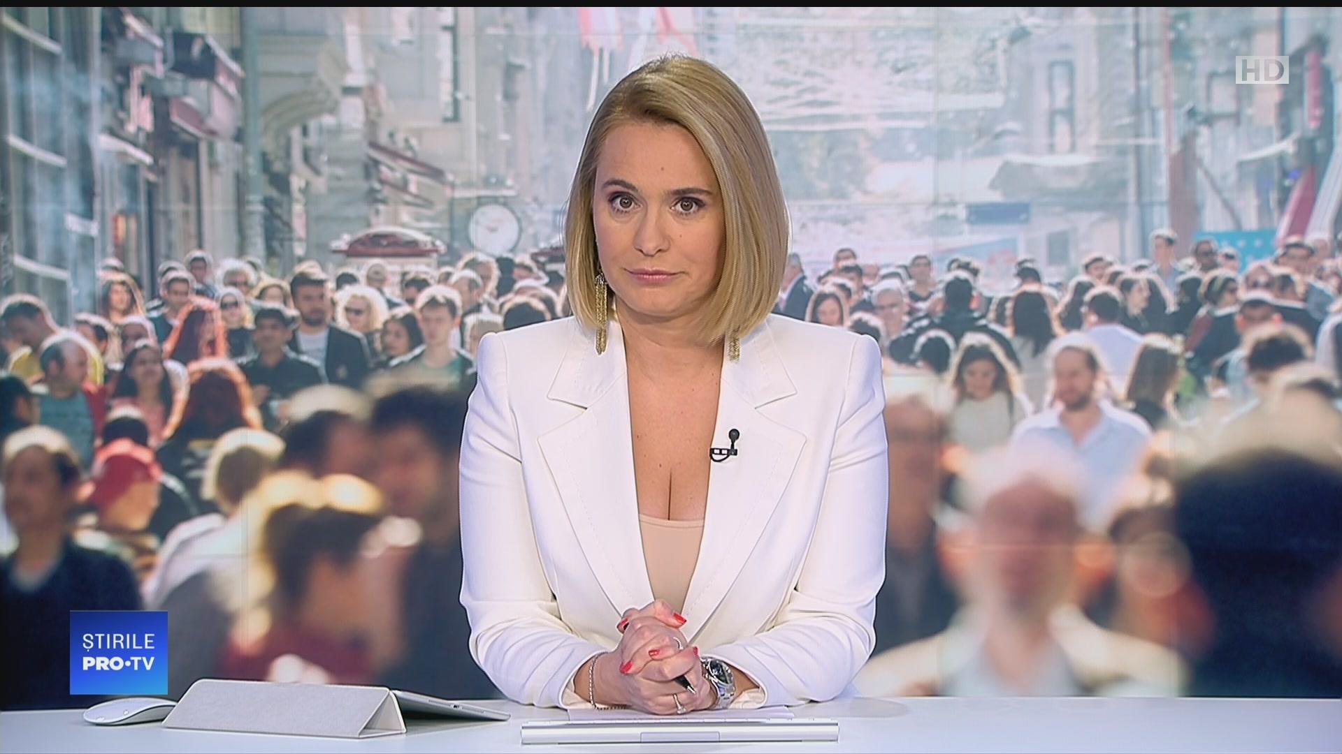 Știrile Pro TV cu Andreea Esca